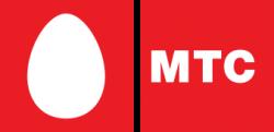Официальный логотип мобильного оператора МТС (Мобильные ТелеСистемы)